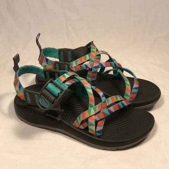 98bd7e01da37 Chaco Other - Chaco ZX 1 Strappy Sandals Little Girl Size 13